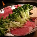 シャカ - 薄切りステーキ、フォアグラ