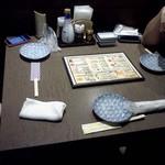 居酒屋 まこちゃん - 我々のテーブル
