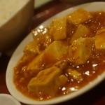 陳さんの盛興飯店 - ミニ麻婆豆腐