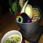 31077383 - 島野菜のバーニャカウダ