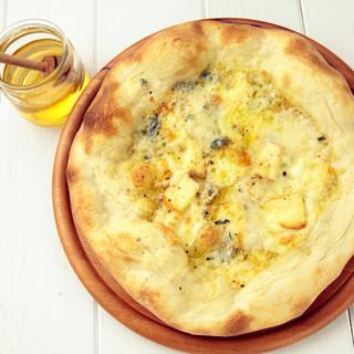 イタリア小麦100%のピザ