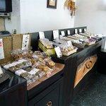 菓匠 中円坊 - こっちは和菓子コーナーですね。
