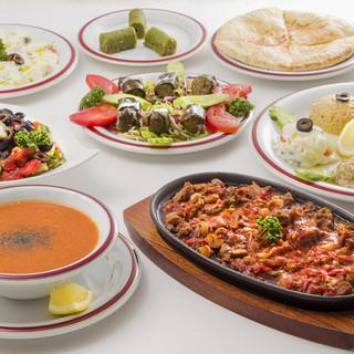世界三大料理のトルコ料理!宴会・パーティも受付中!