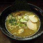 麺屋壱の介 - 濃厚醤油鶏白湯そば