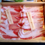 温野菜 - 料理写真:食べ放題 マンガリッツァ豚