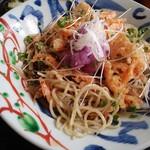 31083941 - 海老おろし蕎麦、食べかけです