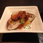 鉄板焼 ろじ - この椎茸、美味いっす