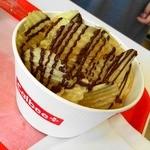 カルビープラス - 揚げたてポテトチップス ロイズのチョコ味