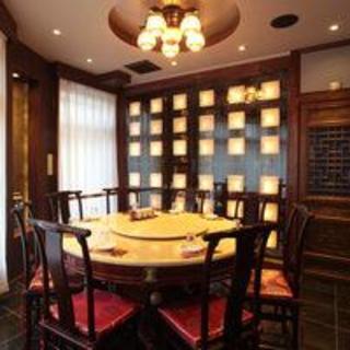 中華風円卓個室
