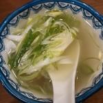 31085446 - 定食のテールスープ