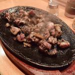 とりまんま - 地鶏もも炭火焼(中)