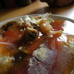 陳家蚵捲 - これも台南小吃の代名詞ですね。プルンとした食感と甘酸っぱいとろみソースが印象的です。