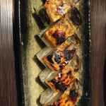蕎麦人弁慶 - 鯖寿し