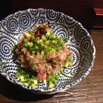 蕎麦人弁慶 - サンマのタタキ