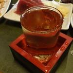 久助 - 菊姫 樽酒:550円