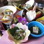 鳴門の鯛と湯葉・豆富 木の花 - コース料理
