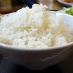 食堂関山 - ご飯は、コシヒカリ!
