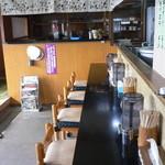 大勝食堂 - カウンター席(2014年9月)