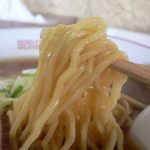 大勝食堂 - 麺はこんな感じ(2014年9月)