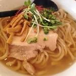麺場 ふうらいぼう - 芳醇追い鶏節らーめん(しお)(780円)+大盛り無料
