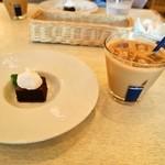 ピッツェリア ダ チロ - ガトーショコラ & カフェラテ(ICE)