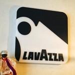 ピッツェリア ダ チロ - 珈琲豆はイタリアの「LAV AZZA」というメーカーのものを使用しているんだそう