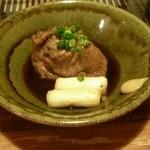 みのたけ - 鴨のモモ肉の角煮
