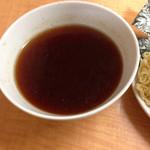 らーめん一慶 - 料理写真:ややシンプルすぎるつけ汁