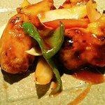 中国料理 神戸壺中天 - ピリ辛酢豚