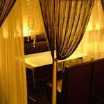 黒猫cafe - カーテンで仕切られた半個室空間!