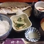 神楽 - サービス定食 780円