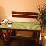 わとい - ペアシートのような2人用テーブル席もあります