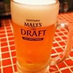 わとい - 生ビールはなんと290円!!