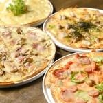 ベジバード - パリッと生地がクセになる!ベジバードのピザはいかが?