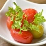 ベジバード - トマトのピクルス