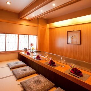 【完全個室】特別室は二室のみ(部屋代なし)。