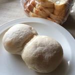 ブゥランジェリィ・アペ - 【もちもちハイジの白パン】