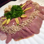 Do&花水月 - 鶏レバーの刺身