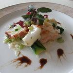 ル・ミストラル - 料理写真:シーフードサラダ