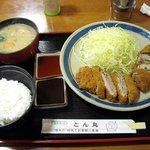 3111344 - とん助定食 930円 +豚汁にup grade +100円