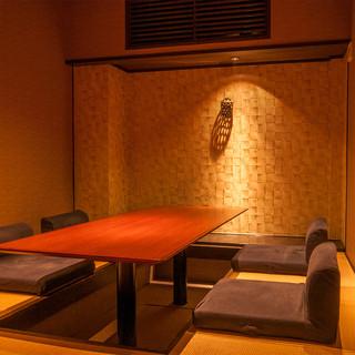 有名デザイナーによる内装でオシャレな空間です