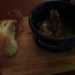 アンテナ - 牡蠣のアヒージョ