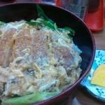あづま - カツ丼600円