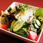 焼肉すみび屋 - サンチュのサラダ