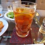 カフェ ライブラ - アイスレモンティー