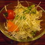 KITCHENはんおむ - セットのサラダ