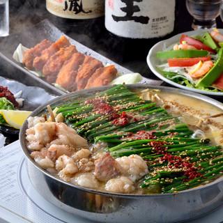 【大阪×博多】いっぱちこだわりのモツ鍋