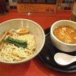 麺屋 風火 - えび味噌つけ麺(並:800円)
