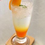 ツルザワ - オレンジスカッシュ