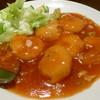 中国料理 一泉源 - 料理写真:海老チリ(晩酌セット)